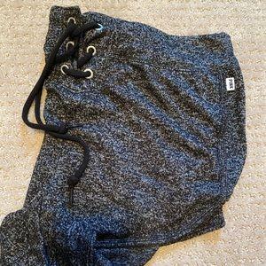 VS pink black/gray varsity shorts